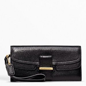 Coach Madison Flagship Pebble Slim Envolope