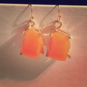 NEW Orange Earrings