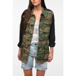 Urban Outfitters Jackets & Blazers - BDG Camo Jacket