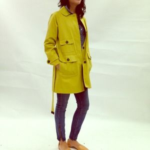 HOST PICKx2 Chartreuse Max Mara Trench