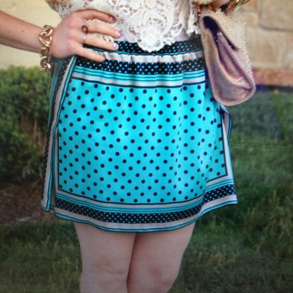 Zara Dresses & Skirts - Scarf skirt