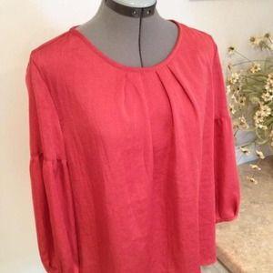 Talbots blouse size 12