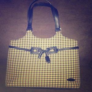 Longaberger purse! Very classy!