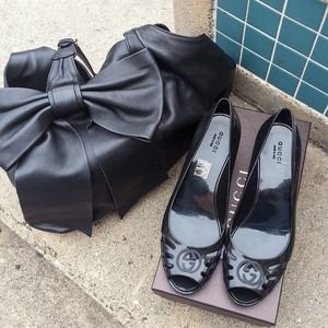 Gucci Shoes - 💯 Authentic Gucci Jelly Wedges