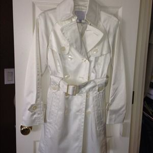Jessica Simpson Trench Coat - Creme Color