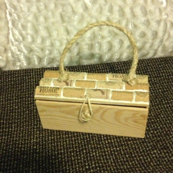 Bags - Handmade wine bottle cork clutch purses