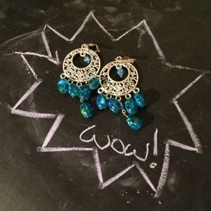 Beautiful bohemian inspired earrings!
