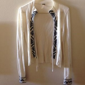 Free People Sweaters - FREE PEOPLE KNIT SWEATER CARDIGAN