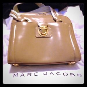 Marc Jacobs Collection Spazzolato leather bag NEW!