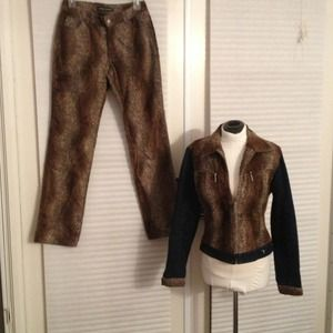 Never Worn Sergio Valente Pants and Jacket