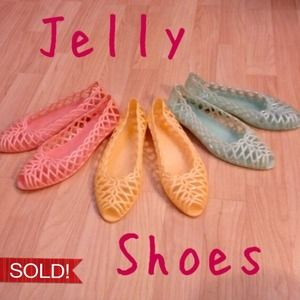 Shoes - ❌Jelly Shoes Set❌