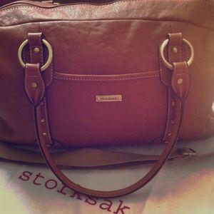 New Storksak Elizabeth bag in Camel