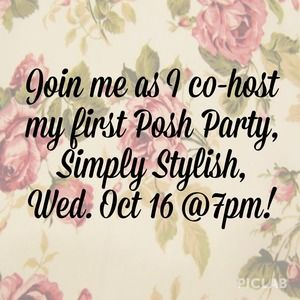 Co-hosting my first posh party!!