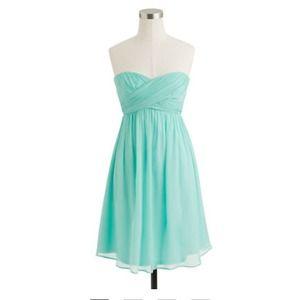 J. Crew Taryn Dress in Silk Chiffon