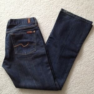 Almost black 7 jeans