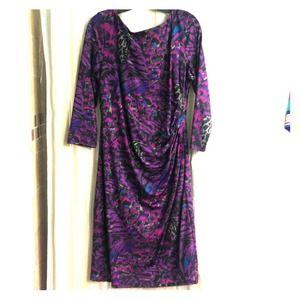 Jessica Simpson form fitting dress