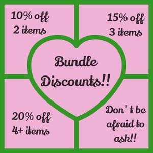 Bundle discounts!!