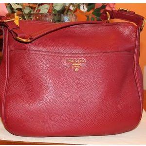 Prada Handbags - Prada zip-top hobo handbag💯authentic
