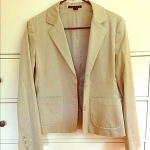THEORY beige blazer