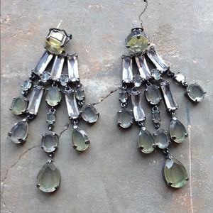 J. Crew Chandelier Earrings - Crystal