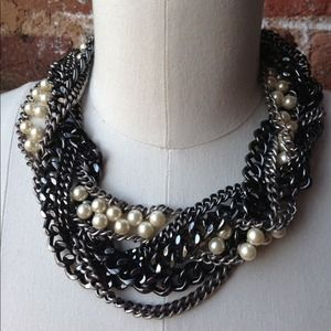 HOST PICK! J. Crew Mixed Media Collar Necklace