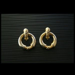 Melanie Door Knocker Earrings