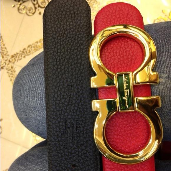 ferragamo belt red wwwpixsharkcom images galleries