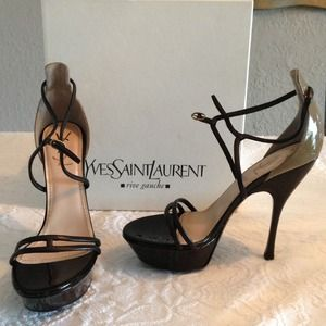 NEW YSL Yves Saint Laurent platform shoes!
