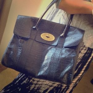 807f2e6716 ... authentic mulberry bags keep. mulberrycroc emboss bayswater 58e7d c8088