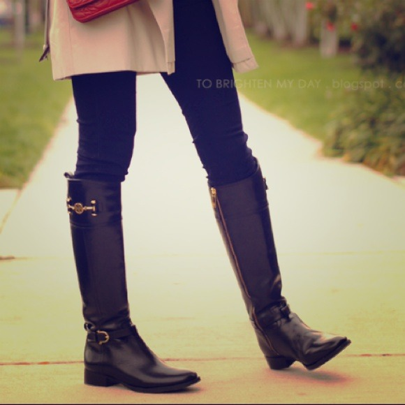 3cb12a91885a Tory Burch Shoes | Sold Nadine Riding Boots | Poshmark