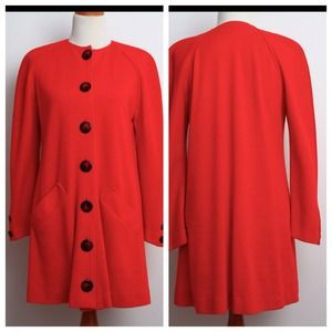 1960's Red Cape Sweater/ Dress