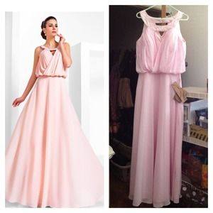Reduced⚡Blush Pink Bridesmaid or Formal Dress