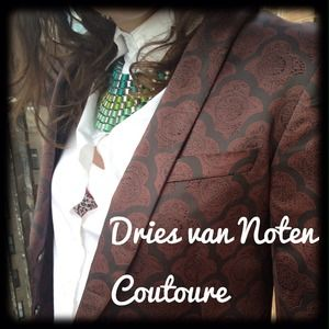 Dries Van Noten Jackets & Blazers - CLOSING SALE Dries Van Noten  Smoking Jacket-NWOT