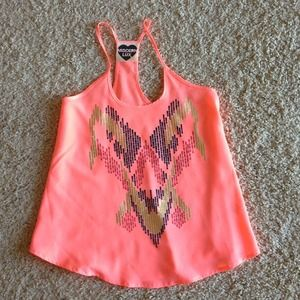 NEON GRAPHIC TANK TOP