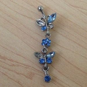 Jewelry - Brand New Never Used** Butterfly Navel Ring