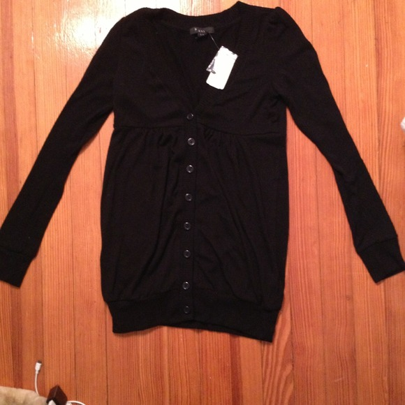 36% off Forever 21 Sweaters - Forever 21 black cardigan/sweater ...