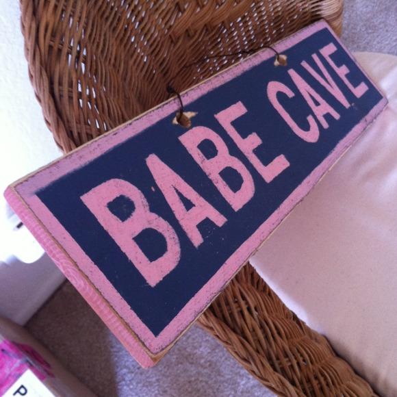 4d7c9a48 Brandy Melville Accessories - Brandy melville Babe cave sign 3Brandy Melville  Chanel Sign