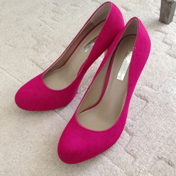 58090c3a302 Hot Pink High Heel Shoes- Brand New!!!👠👠✨🎀✨ NWT