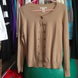 RESERVED!!!!!! Light brown cardigan