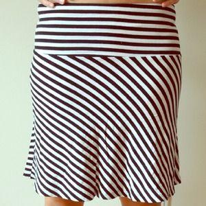 sexy stripe skirt