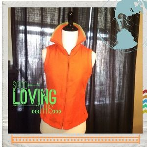 Tommy Hilfiger Jackets & Blazers - ‼️ $25 SALE ‼️Tommy Hilfiger orange vest