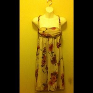 NWT BB DAKOTA floral light pink dress
