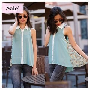 Isabelle blouse (blue)