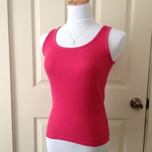 Old Navy Tops - Hot Pink Ribbed Tank Top