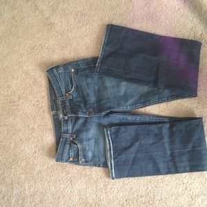 Size 26 7 for all mankind jeans