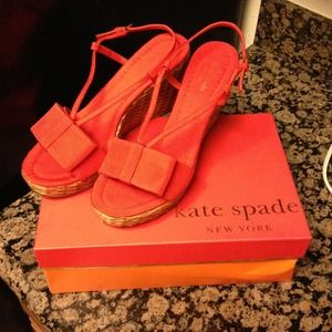 BNWT Kate Spade Wedges
