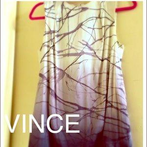 CLOSING SALE Vince Silk Textural Ombré Top-NWOT