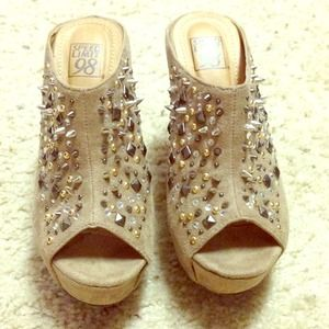 Shoes - Spike Wedges