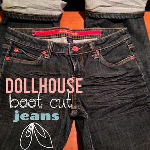 Dollhouse Boot Cut Jeans