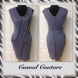 REDUCEDCasual Couture Grecian Body-con Dress